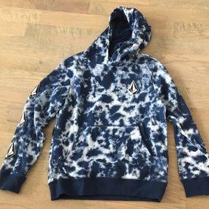 Volcom sweatshirt with hoodie-NWT- M  10Y